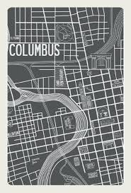 Columbus Map Columbus 1937 Map Apartment B