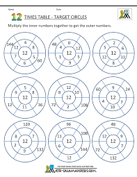 Times Tables 1 12 Times Table Worksheets 12 Times Table Circles 1 Gif 1 000 1 294