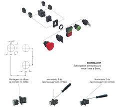 Top Comandos Elétricos: Revisão 11 - Botoeiras e Chaves de Comando &LF64