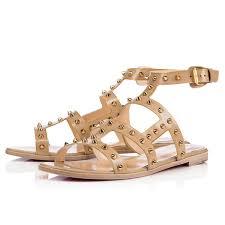 christian louboutin flat sandales christian louboutin femme pas