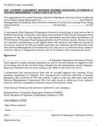monthly payment contract template art consultant resume