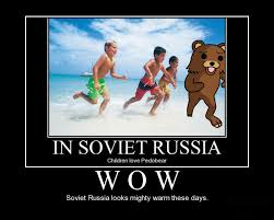 In Soviet Russia Meme - soviet russia looks nice