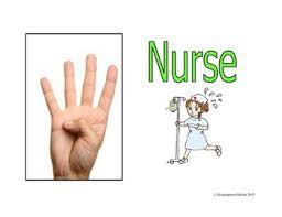 Bathroom Sign Language Classroom Hand Signals Bathroom Nurse Office Pass By Kindergarten