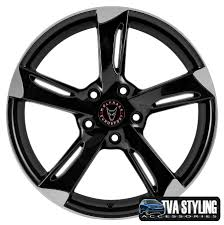 volkswagen van wheels vw transporter van alloy wheels wolfrace genesis black 20x8 5