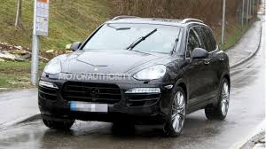 porsche suv 2014 erlkönig porsche cayenne 2014 that came with a manual