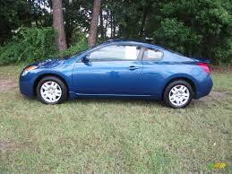 Nissan Altima Blue - 2009 azure blue metallic nissan altima 2 5 s coupe 34994752