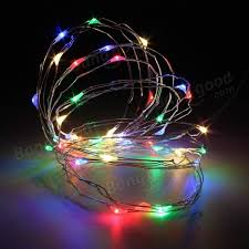 copper wire lights battery 10m 100 led copper wire fairy string light battery powered