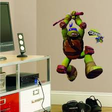 ninja turtles donatello giant stickers great kidsbedrooms the