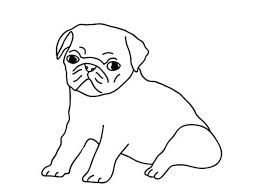 how to draw coloring pages how to draw pug puppies sketch coloring page dogs aplique