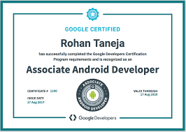 developer android certified associate android developer walkthrough