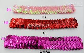 sequin headbands mix 20 different color 220ps 1 sequin headbands baby headbands