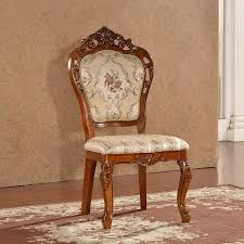 Wooden Armchair Designs New Design Dining Chair In Solid Wood Finish European Style 1 Pcs