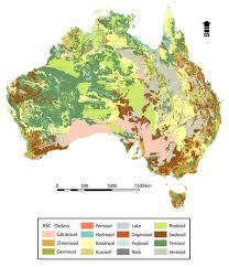 atlas map of australia a s r i s atlas of australian soils