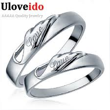 marriage rings images Special designer 2pcs wedding rings for men women charms love jpg