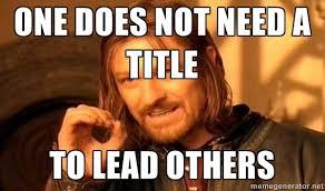 Leadership Meme - why is persistence important in leadership timec