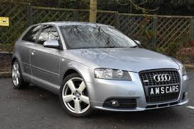 2007 57 audi a3 2 0tdi s line 170ps manual diesel 3 door