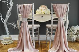 wedding chair covers and sashes wedding chair cover sash silky satin blush pink mink