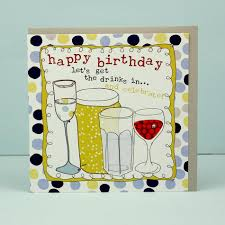 birthday drink greeting card happy birthday drinks molly mae