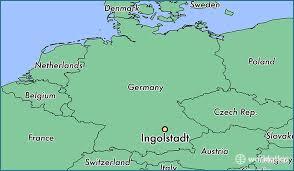 map germay where is ingolstadt germany ingolstadt bavaria map