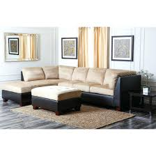 Beige Sectional Sofa Sectional Sofa Abbyson Living Charlotte Beige Sectional Sofa And