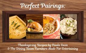 pairings thanksgiving recipes by paula deen