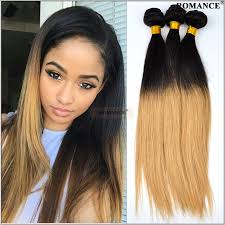 ombre weave cheap 6a ombre human hair weave 3pcs lot silky
