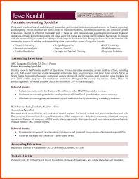 Sample Accountant Resume Samples Of Accounting Resume Accounts Payable Specialist Resume