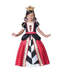 little queen of hearts toddler girls costume