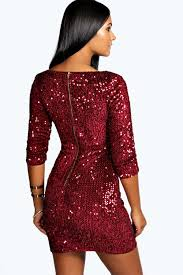 bodycon dresses rosie sequin bodycon dress boohoo