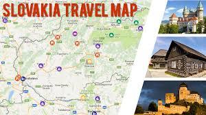 Slovakia Map Maps Nomadwill