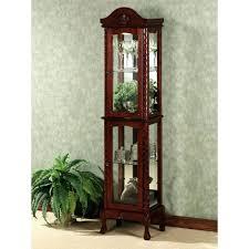 corner curio cabinets for sale corner curio cabinets for sale lighted cabinet black antique