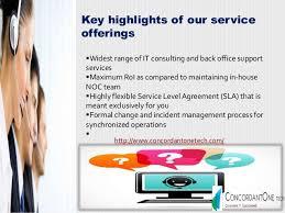 Help Desk Service Level Agreement Noc Help Desk Services