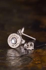 bullet stud earrings 38 special bullet stud earrings bullet designs inc