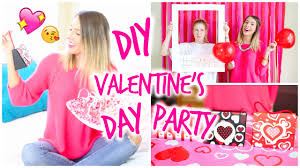 Valentine S Day Diy Decorations Youtube by Diy Valentine U0027s Day Party Photo Booth Treats U0026 Gift Bags Youtube