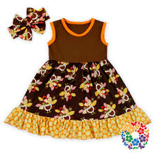 new arrival baby frock designs wholesale baby thanksgiving day