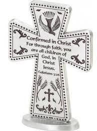 confirmation crosses wall crosses