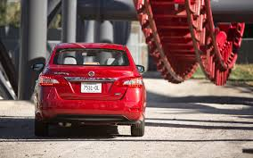red nissan sentra the big test compact sedans motor trend