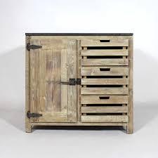 meuble cuisine 90 cm meuble cuisine bois recyclé poignées type frigo made in meubles
