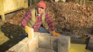 build with roman how to build a fremont diy outdoor fireplace