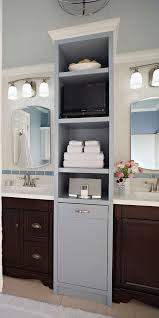 Bathroom Vanity Outlets by Bath Storage Tower