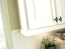 Kitchen Cabinet Moulding Ideas Trim To Hide Cabinet Lighting Best Cabinet Molding Ideas On