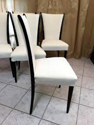 Art Deco Chaise Italian Art Deco Chairs 1930s Set Of 6 For Sale At Pamono
