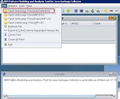 pattern java file troubleshooting gc using ibm pattern modeling and analysis tool for