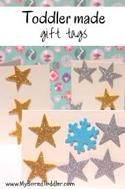 christmas craft for toddlers gift tags my bored toddler