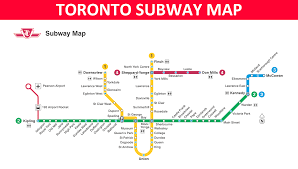 Subway Boston Map by Toronto Subway Map Lines Stations And Interchanges