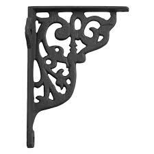 ornamental cast iron shelf bracket hardware