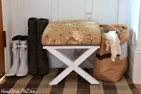 Sofa Table With Stools Remodelaholic Stylish And Simple Diy Sofa Table