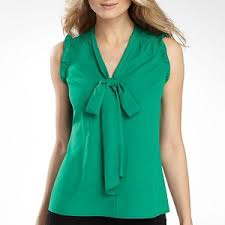 sleeveless tie neck blouse a n a r sleeveless tie neck blouse with ruffles polyvore