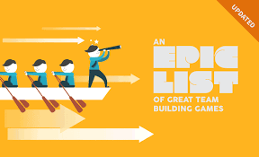 an epic list of great team building when i work