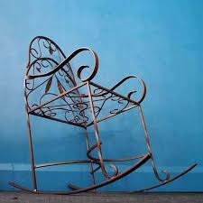 Wrought Iron Chairs For Sale Black Wrought Iron Rocking Chair Wisdom And Koenig Interior Iron